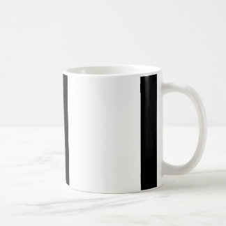 Orange Black And White Stripes Mug