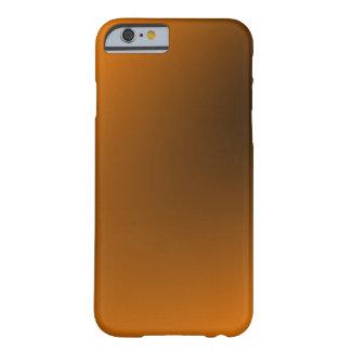 Orange Black Gradient Barely There iPhone 6 Case