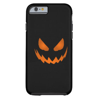 Orange & Black Jack-O-Lantern iPhone 6 case Tough iPhone 6 Case