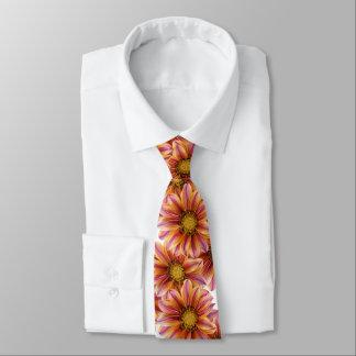 Orange Blossom Floral Tie