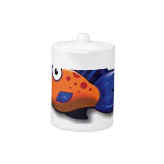 orange blue fish