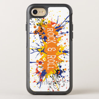 Orange & Blue Rock Roll iPhone 6/6s Otterbox OtterBox Symmetry iPhone 7 Case