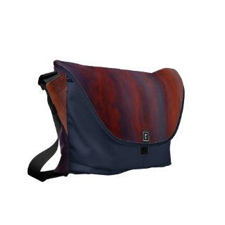 orange-blue Sunset Bag---- Commuter Bags
