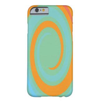 Orange & Blue Swirl Effect Designed Case
