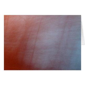 Orange Blur Greeting Card