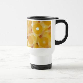 Orange Blur Travel Mug