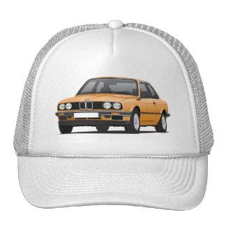 Orange BMW 3 series (E30) Cap
