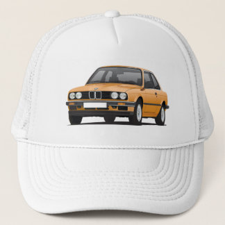 Orange BMW 3 series (E30) Trucker Hat