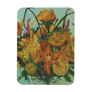 Orange Bouquet - Magnet