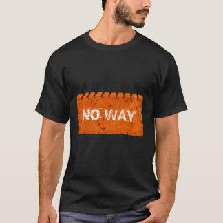 Orange Brick Custom Text T-Shirt