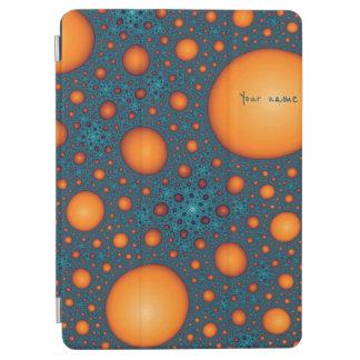 Orange bubbles iPad air cover
