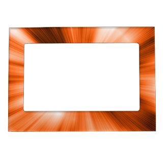 Orange Burst Magnetic Picture Frame