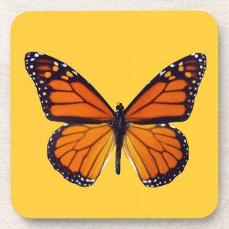 Orange Butterfly Coasters