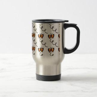 Orange Butterfly Flight Coffee Mug