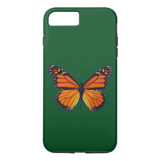 Orange Butterfly iPhone 7 Case