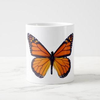 Orange Butterfly Jumbo Mug