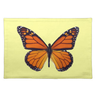 Orange Butterfly Placemat