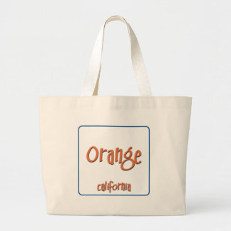 Orange California BlueBox Tote Bags