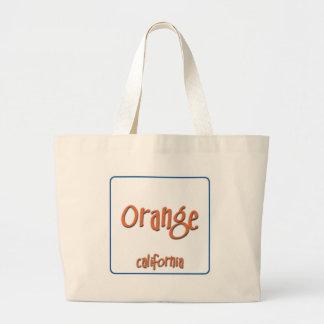 Orange California BlueBox Jumbo Tote Bag