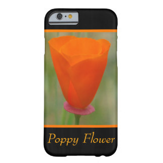 Orange California Flower Barely There iPhone 6 Case