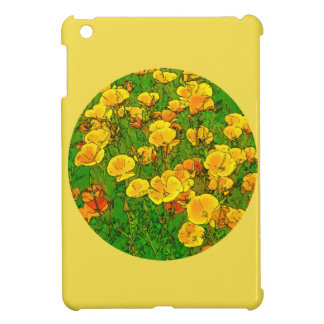 Orange California Poppies 2.2_rd iPad Mini Cases