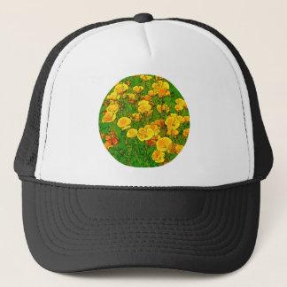 Orange California Poppies 2.2_rd Trucker Hat