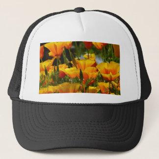 Orange California Poppies_3.1 Trucker Hat