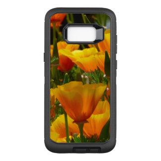 Orange California Poppies OtterBox Defender Samsung Galaxy S8+ Case
