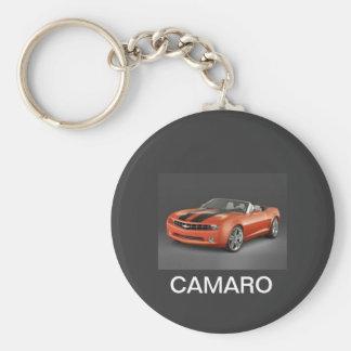 ORANGE CAMARO KEY RING