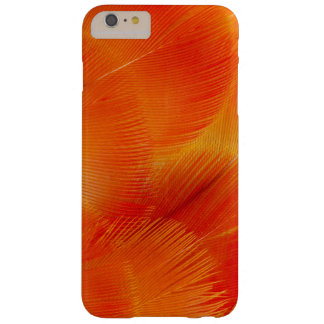 Orange Camelot Macaw Feather Abstract Barely There iPhone 6 Plus Case