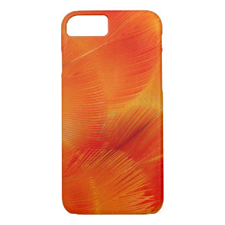 Orange Camelot Macaw Feather Abstract iPhone 8/7 Case