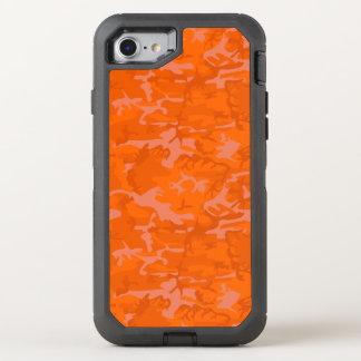 Orange Camo OtterBox Defender iPhone 7 Case
