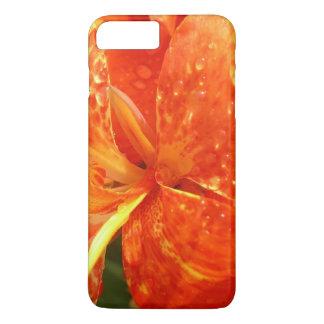 Orange Canne Lily iPhone 8 Case