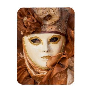 Orange Carnival costume, Venice Magnet