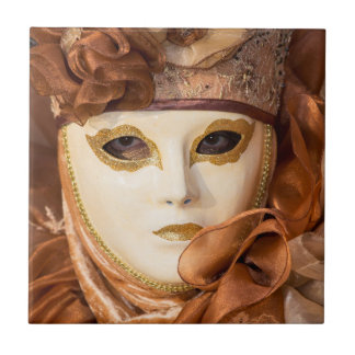 Orange Carnival costume, Venice Tile