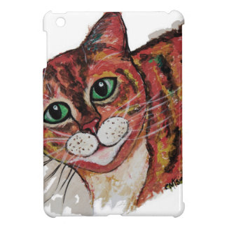 Orange Cat Cover For The iPad Mini