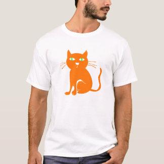 Orange Cat Halloween T-shirt (Toddler)