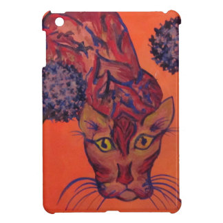 orange cat i-pad mini case case for the iPad mini
