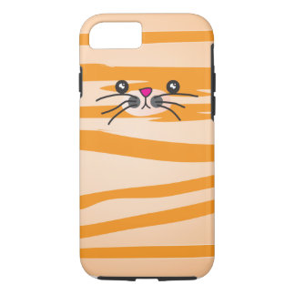 Orange Cat iPhone 7 Case