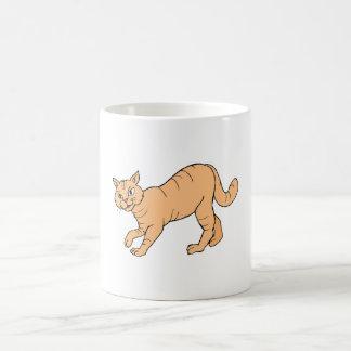 Orange Cat Coffee Mugs