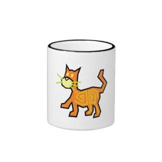 Orange Cat Mug