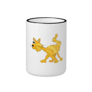 Orange Cat Coffee Mug