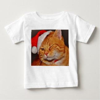 Orange cat - Santa claus cat - merry christmas Baby T-Shirt