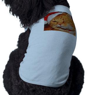 Orange cat - Santa claus cat - merry christmas Shirt