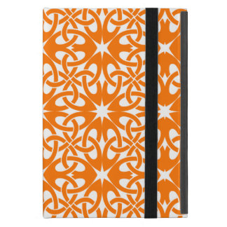 Orange Celtic Knot CHOOSE YOUR OWN BACKGROUND iPad Mini Case