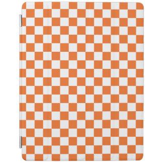 Orange Checkerboard iPad Cover