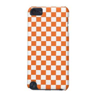 Orange Checkerboard iPod Touch 5G Case