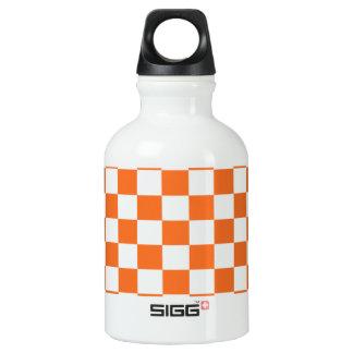 Orange Checkerboard SIGG Traveller 0.3L Water Bottle