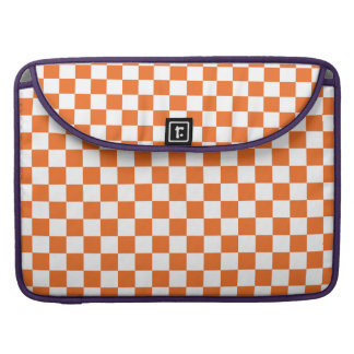 Orange Checkerboard Sleeve For MacBook Pro