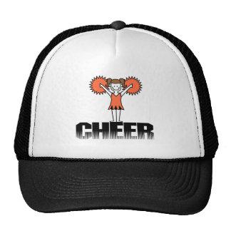 Orange Cheerleading T-shirts and Gifts Cap
